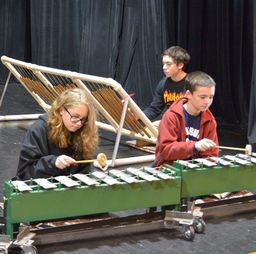 Middle Schoolers' Gamelan Musical Performance