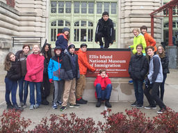 Touring Ellis Island as Part of an Interdisciplinary Study of Immigration