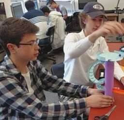 A Busy Spring Trimester for Engineering and Robotics Students