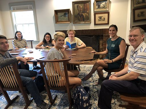 Fall College Visits to Solebury School