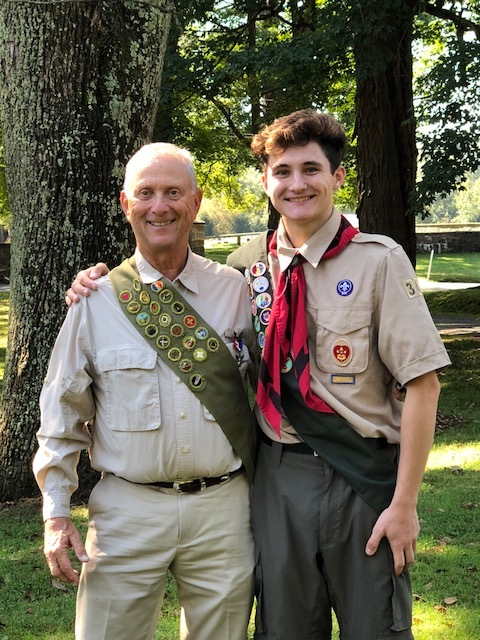 Senior Jack Slomin Earns Eagle Scout Honor