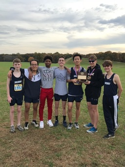 Boys Cross Country Takes 2nd Place at the Penn-Jersey League Championships
