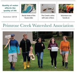 Student Scientists at Primrose Creek
