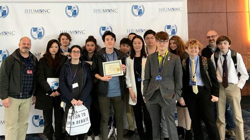 Solebury Participates in the Johns Hopkins University Model United Nations Conference