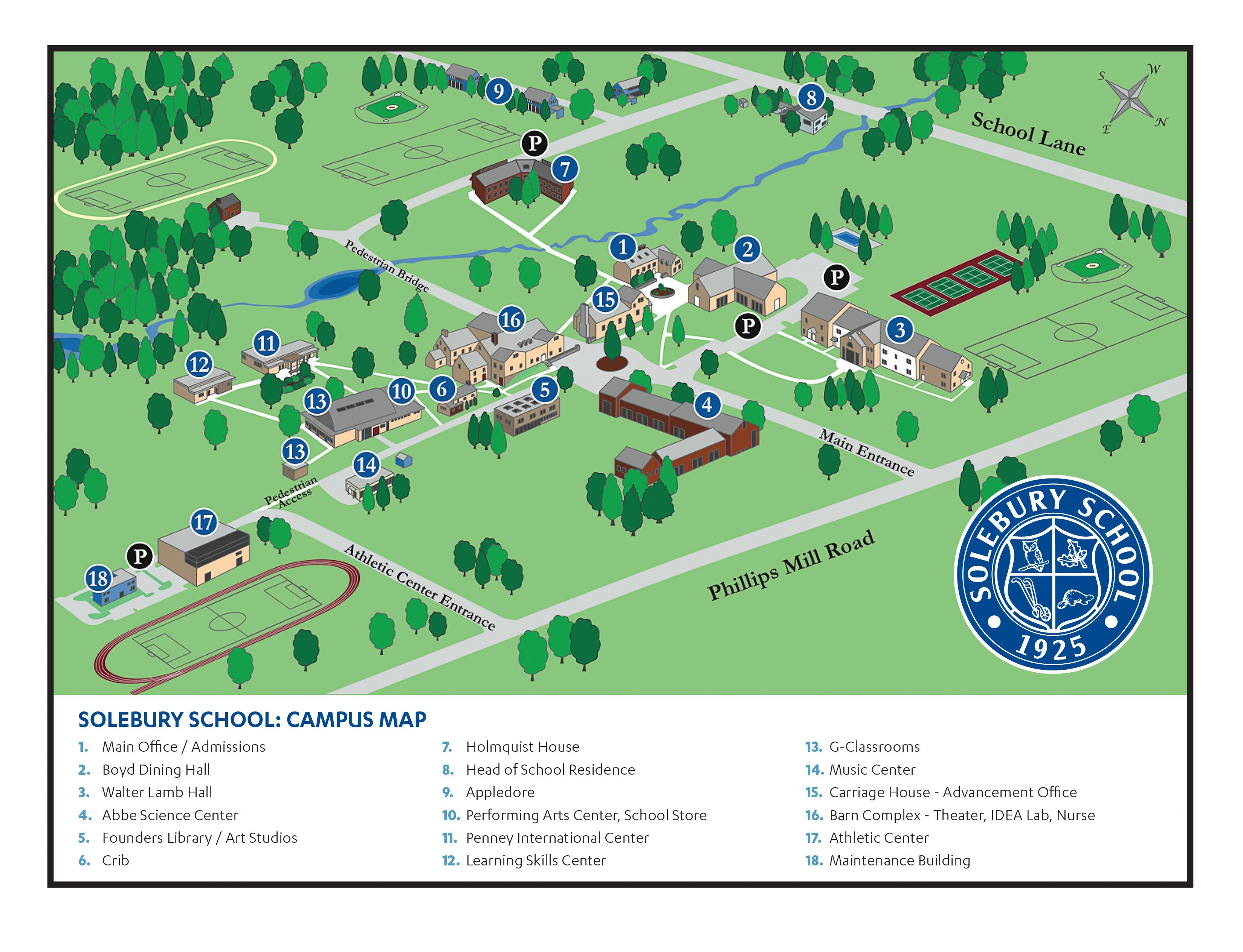 Campus Map - Solebury on