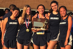 Our girls cross country team, 2017 Penn-Jersey League Champions!